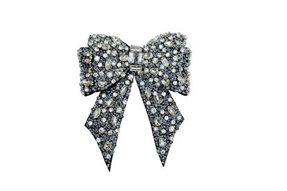 Picture of Madiso - Glass crystals and beads bow shoe charm